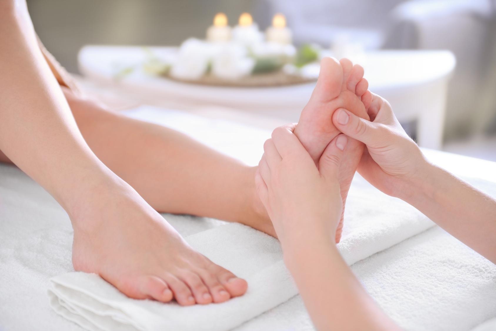 Dzień kobiet – SPA dla stóp -relaksacyjny masaż z elementami refleksologii!